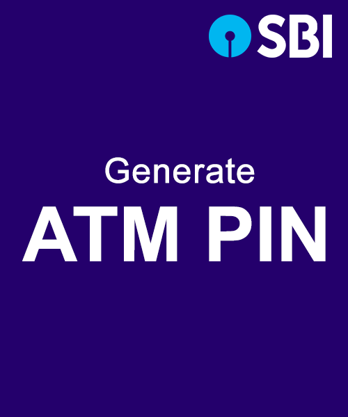 Generate SBI ATM Pin
